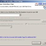 ブータブルUSBドライブの作成ツール「Universal USB Installer」